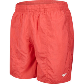"speedo M's Solid Leisure 16"" Watershort Fed Red"
